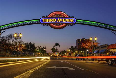 Third Avenue Sign in Downtown Chula Vista by McClean ...