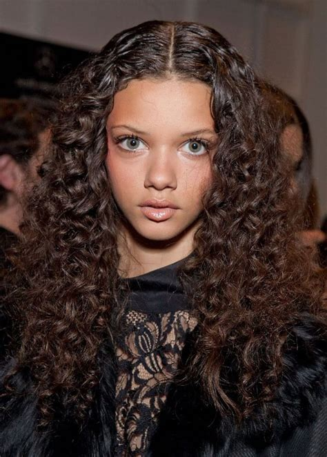 some simple and easy styling for curly hair with some cool