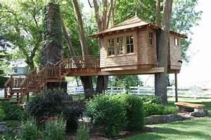 Comment Construire Une Cabane à écureuil : comment fabriquer une cabane dans les arbres ~ Melissatoandfro.com Idées de Décoration