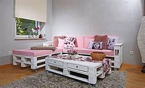 Paletten Couch Kissen : paletten couch selber bauen ~ Orissabook.com Haus und Dekorationen