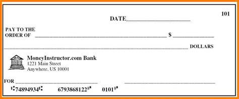 blank check template 5 payroll check template sles of paystubs