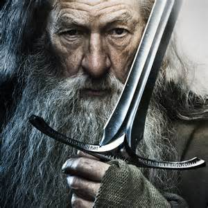 brands of kitchen knives officially licensed the hobbit glamdring sword of gandalf