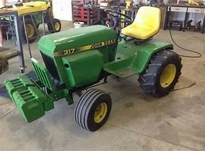 John Deere 317 Tractor Service Repair Manual