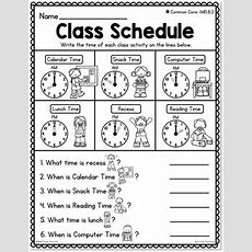 Differentiated First Grade Telling Time Worksheets By Bite