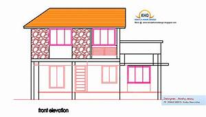 Home plan and elevation 1950 Sq. Ft ~ Kerala House Design Idea