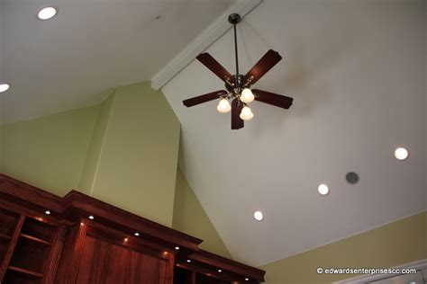 ceiling fan for angled ceiling san fernando recess can light installs repairs