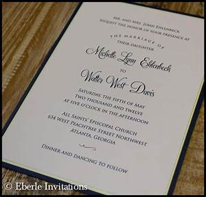 atlanta wedding invitations archives eberle invitations With classic wedding invitations thermography