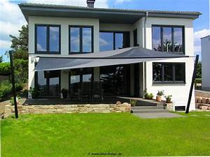 Sonnensegel terrassen berdachung sonnenschutz f r for Sonnensegel für terrassenüberdachung