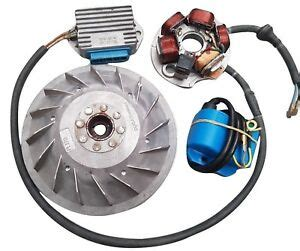 flywheel cone 12v electronic ignition kit stator for vespa pk 125 20mm ebay