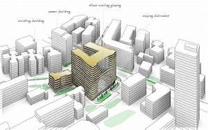 Next Architects Creates Rippled Facade For Fuzhou