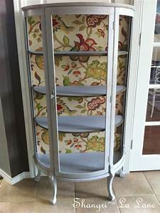 best 25 curio cabinet decor ideas on pinterest curio With what kind of paint to use on kitchen cabinets for embroidery hoop wall art