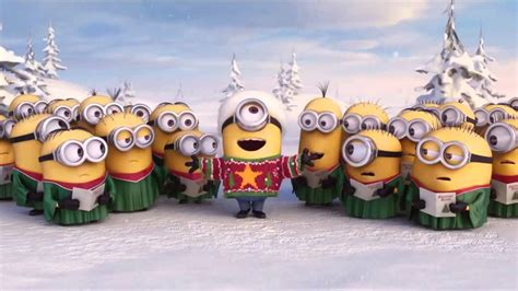 minions promo clip happy holidays  despicable