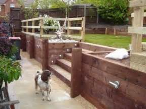 Build a Wood Timber Retaining Wall