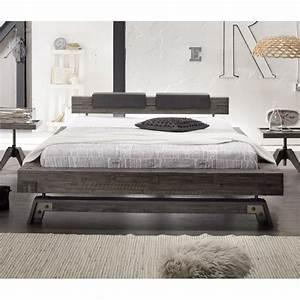Bettgestell 160 X 200 : hasena factory line bett akazie vintage grey 160x200 cm ~ Bigdaddyawards.com Haus und Dekorationen
