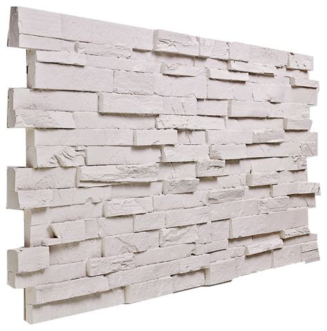 white stacked veneer deep slate stacked wall panel almond traditional siding and stone veneer by buy faux stone