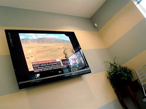 how high should you mount your tv hanging tv on wall