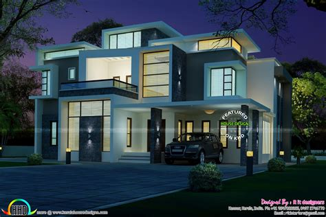 Stunning Contemporary House Architecture  Kerala Home