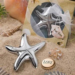 choosing your beach wedding favors With beach wedding party favors
