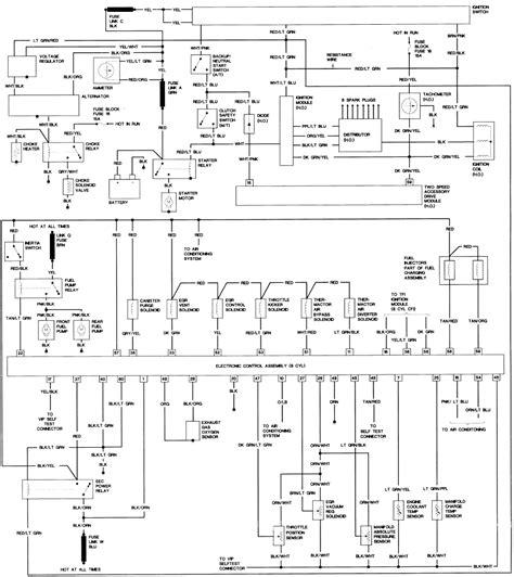 1984 Ford Ignition Wiring by 2001 Nissan Datsun Truck Xterra 4wd 3 3l Mfi Sohc 6cyl