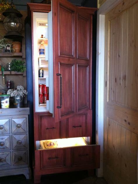 refrigerator kitchen cabinets sub zero refrigerator eclectic oklahoma city by 1813