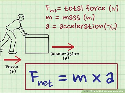 ways  calculate acceleration wikihow