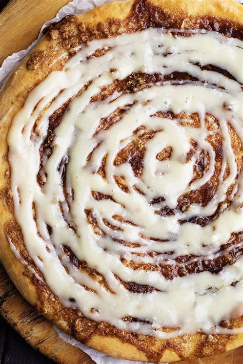 pizza dough dessert recipes cinnamon roll dessert pizza the recipe critic