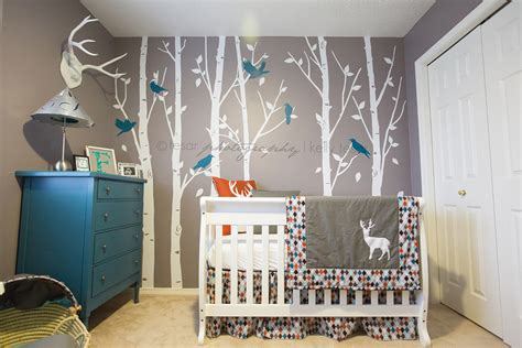 nursery modern woodland nursery baby baby showers nurseries baby