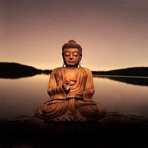 Buddha Bilder Gemalt : bild home affaire buddha calm lake 40 40 cm otto ~ Markanthonyermac.com Haus und Dekorationen