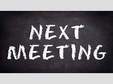 Next Meeting 1192017 Benjamin Banneker AHS Parent