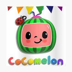 Antenna, lady bug and coco melon face. Pin on Ma Agustina's 1st Birthday