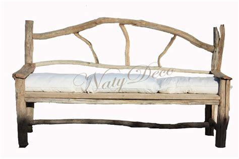 canapé bois flotté canapé en bois flotté