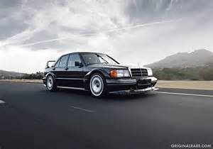 Elle a été développée dans le but d'un retour du constructeur sur la scène des voitures de route sportives. 1990 Mercedes-Benz 190E 2.5-16 Evolution II | German Cars For Sale Blog