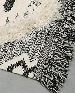 tapis coton tisse berbere ecru 955040765g08 pimkie With tapis coton tissé