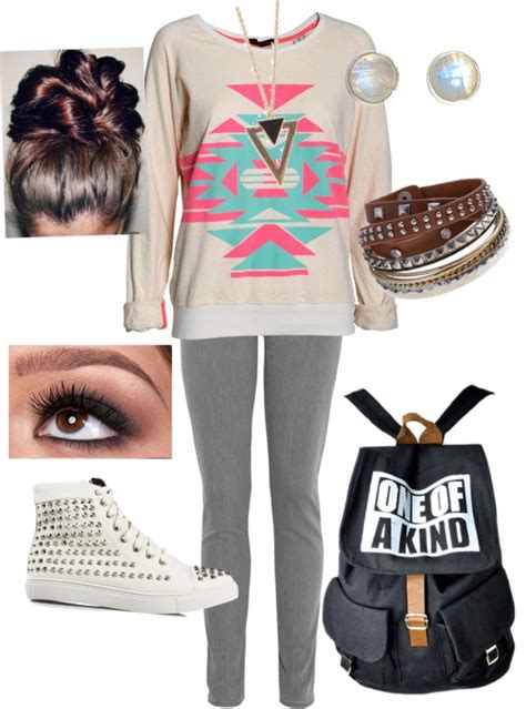 U0026quot;Cute school outfitu0026quot; by kitkat2424 on Polyvore | Fashan | Pinterest | Nice The outfit and Bags