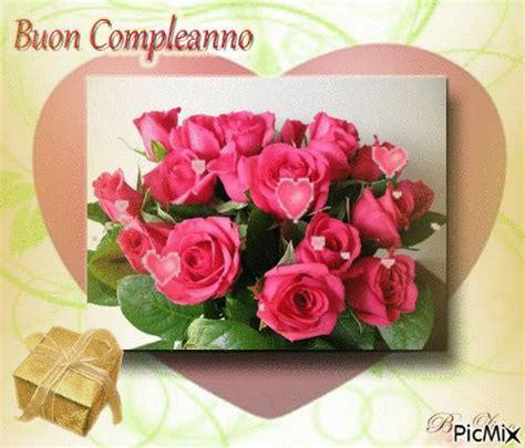 auguri fiori compleanno gifs buon compleanno fiori per la ragazza immagini animate