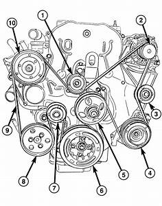 2010 Jeep Patriot Serpentine Belt Diagram