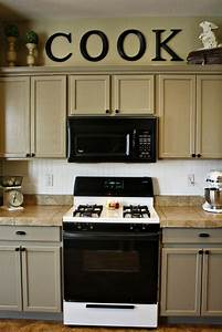 decor above kitchen cabinets 2234