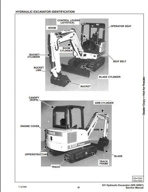 bobcat  mini excavator service repair workshop manual   repair manual store