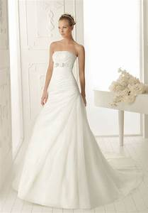 simple a line chiffon wedding dress ipunya With simple chiffon wedding dress