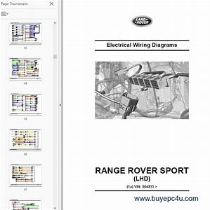 Land Rover  Range Rover Sport L494 Repair Manual And