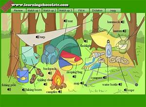 Camping Vocabulary