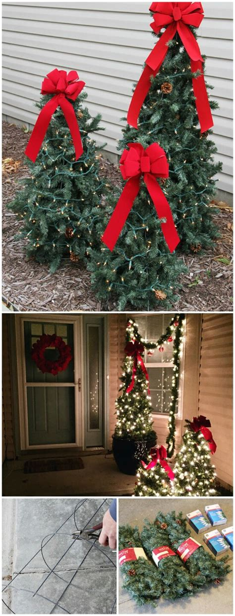 cheap diy outdoor christmas decorations 20 impossibly creative diy outdoor christmas decorations diy crafts