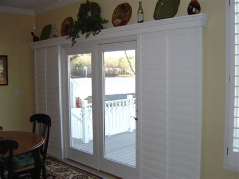 which window treatments for sliding glass doors it is