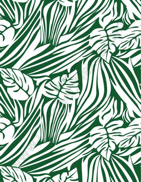 Free Printable Jungle Leaf Pattern