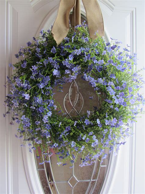 front door wreath summer wreath front door wreath country wreath lilac