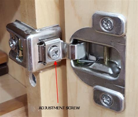 kitchen cabinet door hinge adjustment hinge adjustment kitchen gallery 7782