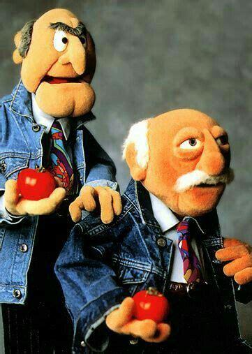 statler  waldorf   pair  muppet characters