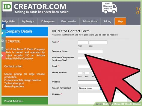 How To Make Id Cards Online 12 Steps (with Pictures