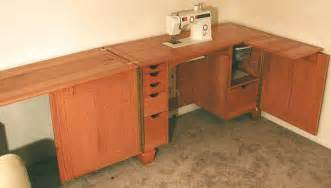 Sewing Desk Plans Free by Wood Sewing Cabinet Plans Pdf Plans Plans For Rolling