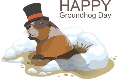 Groundhog Day Clipart What Is Groundhog Day Wondered How It Came Into